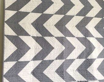 Baby Crib Quilt, Modern Quilt, Baby Quilt Blanket, Baby Quilts for Sale, Baby Shower Gift, Handmade Crib Quilt, Modern Baby Quilt