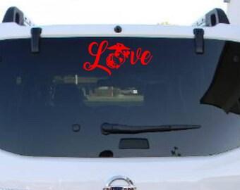 Marine Mom Decal Car Sticker, USMC Mom Decal