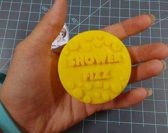 Shower Fizz Plastic Mold or Silicone Mold, bath fizz mold, bath bomb mold, soap mold, shower mold, fizz mold, relief mold, aspirin, medicine