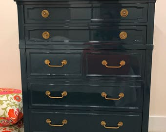 Drexel Triune chest of drawers