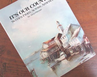 Painting Book It's Our Country by Alva Pittman Instructions and Worksheets Magazine 1986