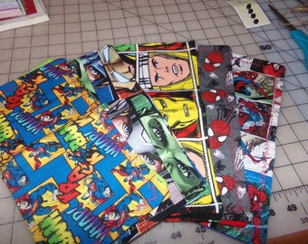 SUPERHERO HANKS- Lot of 5