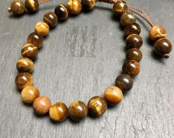 Tiger eye link bracelet