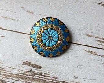 brooch, wooden brooch, wooden jewelry, handmade brooch, wooden pin, cute brooch, brooches, painted brooch, wooden jewellery, wedding brooch