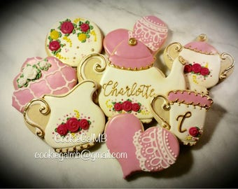 Sweet Tea Party Cookies