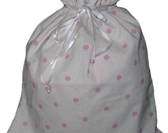 Double POINT PINK laundry bag