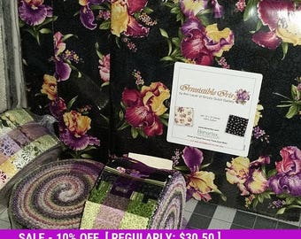 SALE! Iris  - Layer Cake - Benartex - Irrestable Iris - 10 pack