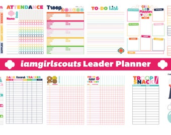 iamgirlscouts Girl Scout Leader Troop Planner