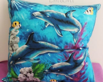 small cushion dolphins