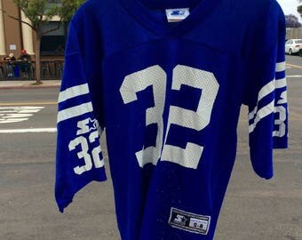 Vtg Starter Edgerrin James Colts Youth Football Jersey                      Sz YS-8
