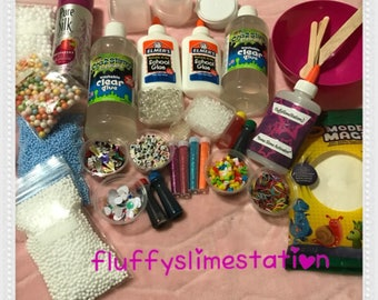 Huge Slime Kit Everything You need