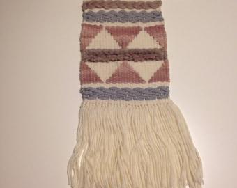 Weaving - Pink + Grey