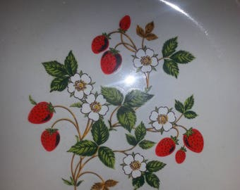 Strawberries and Cream Stoneware Made in Japan