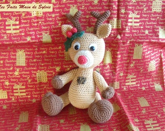 Aldo reindeer in the small can crochet