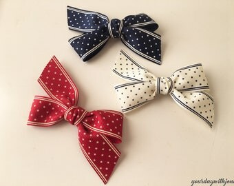 Baby Hair Clips, Baby Hair Bows, Toddler Hair Clips, Hair Bows, Star Ribbon Hair Bows, Alligator Clips, Party Favor