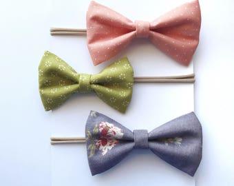 MIX AND MATCH Tuxedo Bows- Custom set