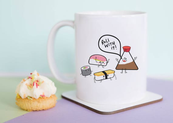 Sushi Roll With It Mug (With Gift Box)