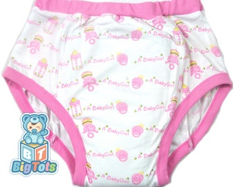 Adult Baby It's a Girl training pants ABDL