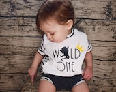Wild One Birthday   Short Sleeve   Where the Wild Things Are   Wild One Shirt   First Birthday Shirt   Birthday Girl or Boy   Baby Gift