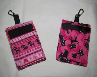 Pink Luggage, ID or Backpack Tag
