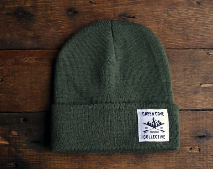 Featured listing image: Ladies Discovery Watch Cap - Olive Drab