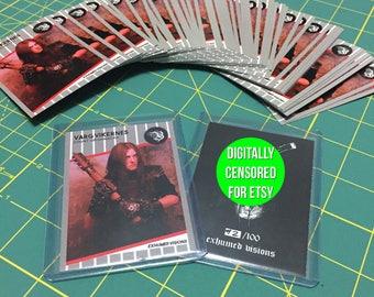 Varg Vikernes - Count Grishnackh - Limited Edition Mock Baseball Card - Buzrum