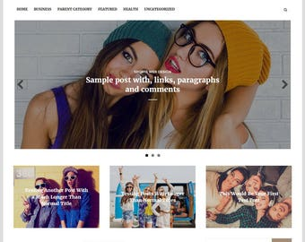 Arouse Blogger Template