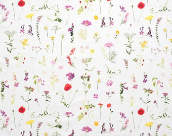 Flowers from the field fabric (canvas). SK166