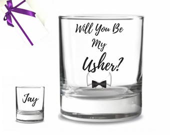 Asking usher, usher proposal, Will you be my usher gift, Groomsmen proposal gift, groomsman proposal gift, Will you be my groomsman gift,
