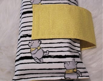 Nappy Wallet/Diaper clutch with change mat and one burp cloth