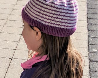 Knit Baby/Toddler Hat