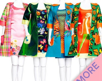 SET OF BARBIE CLOTHING