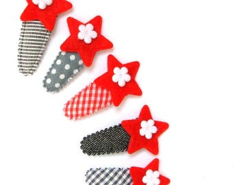 "Hair clip for baby & girl ""ELISE"" - french Baby Hair Clip"