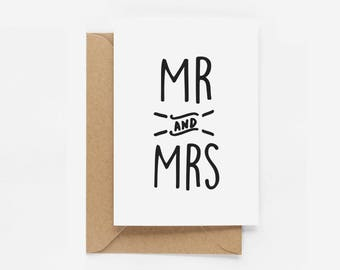 Newlyweds Congratulations Card (Mr and Mr, Mrs and Mrs, Mr and Mrs) - Eddie and The Giant Peach