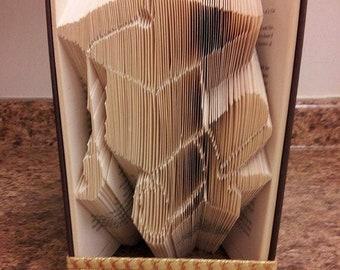 Graduation, Folded Book, 2018 Congratulations!, Graduation Cap, High School Graduation Gift, College Graduation Gift, Unique Gift, diploma