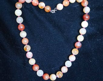 Natural Genuine Red, Orange Carnelian Loose Stone Beads 0.8mm each