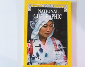 National Geographic Magazine June 1976 Kyoto