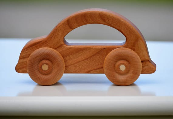 personalized wooden toy car push pull car kids toy push car toy wood toy wooden toy cars wooden cars wooden car