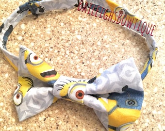 Minion inspired Bow tie