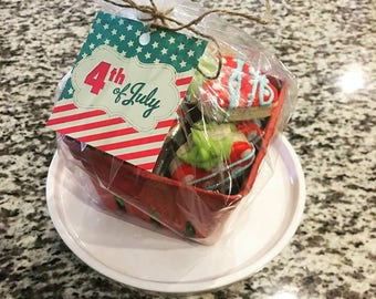 4th of July Strawberry Sugar Cookie Crate