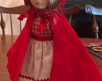 Effenbee Little Red Riding Hood doll with tags
