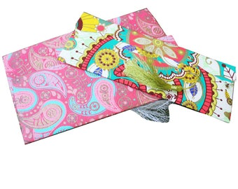 Printed Paper Envelop Designer Money Pouch Traditional Wedding Envelop Home Decor Set of 3 Pcs Gift Bag Craft Paper Art Envelope Gift Set