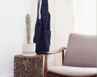 Oak Timber Stump Stool