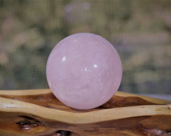 """Rose Quartz Sphere / Rose Quartz / 2"""" / 52mm"""