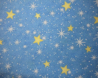 Cotton Fabric, 1/2 yd cut, STARRY SKY, destash - pay it forward, PIF