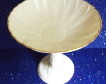 Lenox Pedestal Candy Dish - Vintage Nut and Candy Dish