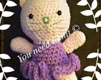 """Crochet cat amigurumi """"Lulabell"""""""