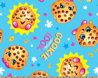 "Shopkins Cookie with the look fabric for Springs Creative, 43"" wide, 100% cotton"