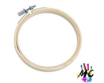 13 cm, drum, bamboo embroidery hoop