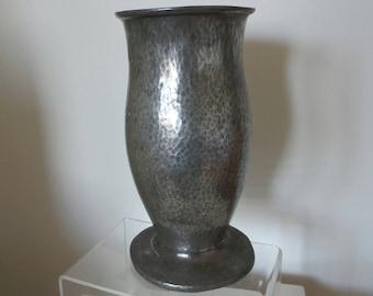 Tudric Pewter 01547 large tulip Vase